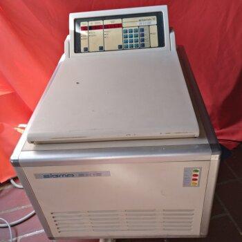 gebrauchte Kühlzentrifuge Sigma 2K-15 für Eppendorf-Tubes 15.000 U/min