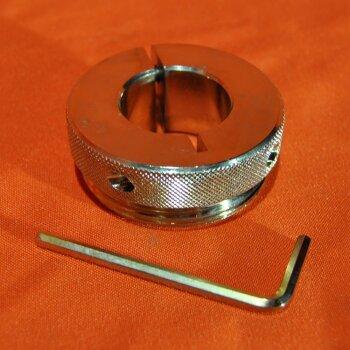 """unbenutzte Fassverschraubung Bürkle 5601-12 32 mm auf 2""""-Gewinde"""