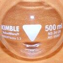 Kimble Chase Rundkolben 500 mL NS 24/29 Boro 3.3, Kimble 65287 NEUWARE