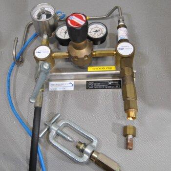 gebrauchter Druckminderer f. Acetylen C2H2