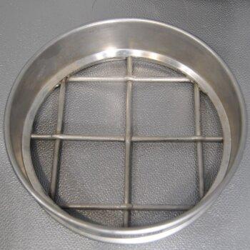 gebrauchtes Analysensieb 63 mm D=200mm  Edelstahl Retsch