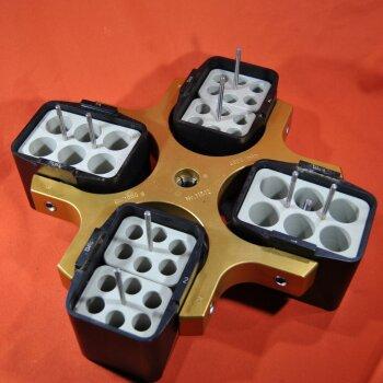 gebrauchter Ausschwingrotor Sigma 11512 4.000 U/min mit Adaptern