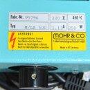 neuwertige Gehäuseheizhaube Mohr M/LA 500  für 500ml  Rundkolben