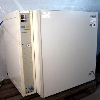gebrauchter CO2 O2-Begasungsbrutschrank Kupfer Heraeus BB6220 CU O2 220 Liter