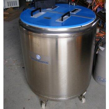 gebrauchtes großes Dewargefäß Stickstofftank LN2 Taylor-Wharton LR-320