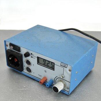 gebrauchte Temperatursteuerung Roth DR500 Thermostat-Relais