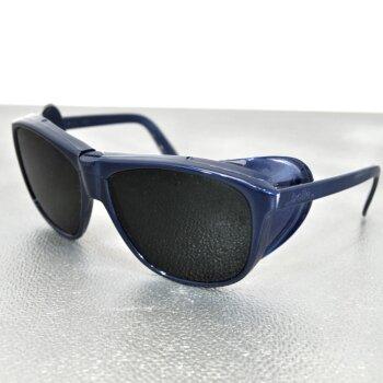 1x Schutzbrille getönt DIN EN 196 Schweißen etc. unbenutzt