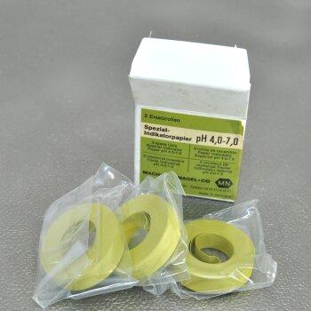 3 Rollen Indikatorpapier Spezial-Indikatorpapier pH 4,0-7,0 Macherey Nagel 90227 Nachfüllpack